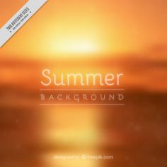 Blurred Summer Background that I have designed for Freepik | #Summer #Background #BlurredBackground #Vector #GraphicDesign