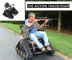 The Action Trackchair AKA The Best Freaking Wheelchair Ever Made