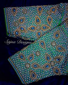 Call/message us at Embroidery Art, Embroidery Patterns, Aari Work Blouse, Bridal Blouse Designs, Stone Work, Sleeve Designs, Beautiful Hairstyles, Neck Design, Woman Clothing