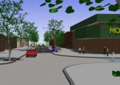 NEW LOOK: The centre of Bamber Bridge