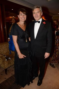 Carole Middleton and Michael Middleton At The British-Red Cross International Fundraising Committee Ambassadors' Gala, London