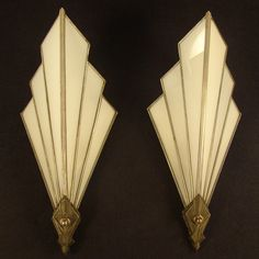 Art Deco sconces