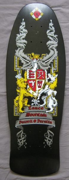 DECK OF THE DAY   POWELL & PERALTA   LANCE MOUNTAIN   ART BY LANCE MOUNTAIN