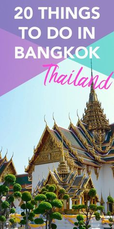 Bangkok is such an upbeat city, filled with things to do day and night. Having been there several times, here is my top 20 things to do in Bangkok. Thailand Travel Guide, Bangkok Travel, Bangkok Thailand, Bangkok Trip, Koh Phangan, Phuket, Tao, Stuff To Do, Things To Do