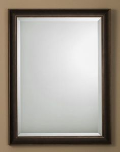 #184/#188 Oil Rubbed Bronze Mirror    184: 23-5/8″w x 31-5/8″h  188: 26-1/8″w x 38-1/8″h