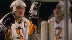 Mario Lemieux puts on arguably the greatest offensive performance in the history of the Stanley Cup Playoffs. Ice Hockey Players, Nhl Players, Hockey Teams, Mike Bossy, Mario Lemieux, Lets Go Pens, Stanley Cup Playoffs, Wayne Gretzky, Nhl Games