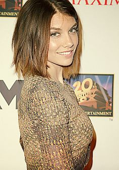 Lauren Cohan. Loved her since I first saw her on The Walking Dead