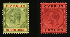 George V, and n., fine-v., with 2016 Eichele certificate (SG as hinged) (Catalog value