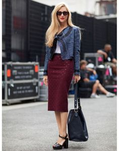 Editor Street Style - New York Fashion Week - Spring 2012