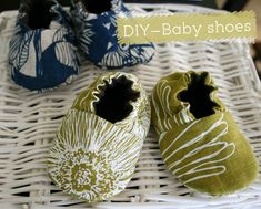 {DIY} Baby shoes
