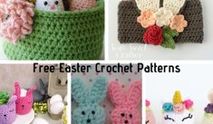 Free Easter Crochet Patterns You Will Love! - Knit And Crochet Daily Easter Egg Pattern, Easter Crochet Patterns, Crochet Gifts, Free Crochet, Knit Crochet, Marshmallow Bunny, Blue Crayon, Chocolate Easter Bunny, Free Pattern