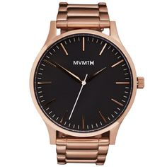 The 40 - Black/Rose Gold                           | MVMT Watches