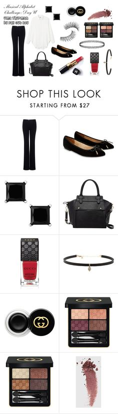 """Musical Alphabet Challenge Day U: Uma Thurman by Fall Out Boy"" by i-love-tennis ❤ liked on Polyvore featuring Marissa Webb, Accessorize, Pink Haley, Chanel, Gucci, Carbon & Hyde, Trish McEvoy and musicalalphabetchallenge"
