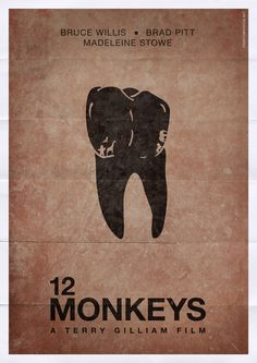 12 Monkeys #Poster Pitt crushed it in this role. Oscar worthy supporting actor imo.
