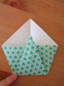 diy une enveloppe en origami enveloppes origami et diy. Black Bedroom Furniture Sets. Home Design Ideas