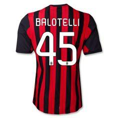 camisetas Balotelli ac milan 2014 primera equipacion http://www.camisetascopadomundo2014.com/