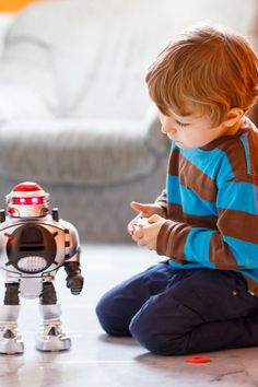 What is a robot's potential when it comes to helping children with autism? They are mesmerized by their ability to be human-like. All Kids, Diy For Kids, Top Toys For Boys, Cleaning Maid, Children With Autism, Helping Children, Parent Resources, Kid Spaces, Raising Kids