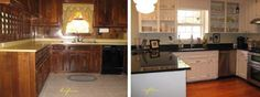 Fantastic kitchen re-do and many other renovations. Great ideas!