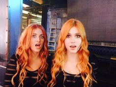 Kat discovers her long lost twin while filming day three of #Shadowhunters <3