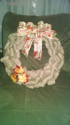 Thanksgiving wreath Etsy.com/shop/2HeartsAs1