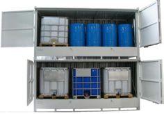 ALMACENES EXTERIOR - INTERIOR. 2xAE3 (dos unidades de AE3 montadas una sobre otra).