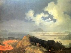 Quot eruption of vesuvius quot 1817 pierre jacques volaire quot eruption