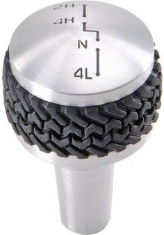 Black Drake Off Road™ Billet 4WD Knob for 07-12 Jeep® Wrangler & Wrangler Unlimited JK