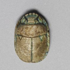 Scarab beetle amulets were especially common in ancient Egypt. Description from theinfong.com. I searched for this on bing.com/images