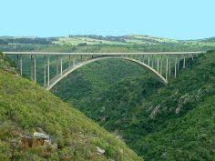 Van Stadens river bridge west of Port Elizabeth, South Africa.