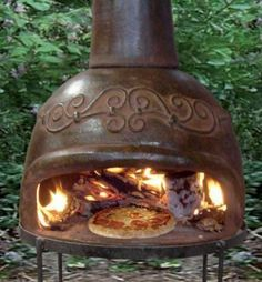 mexican chimney pizza  <this would look great as a built in>