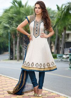 Have you ever thought about the fact that anarkali churidar designs can make your occasion special and memorable ones? Well if you have still not thought about it then it time to think because the trend of churidar suits have … Continue reading → Indian Wedding Outfits, Indian Outfits, Indian Clothes, Ethnic Clothes, Bollywood Dress, Bollywood Fashion, Bollywood Party, Salwar Kameez, Anarkali Churidar