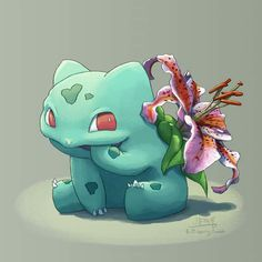 Blooming Bulbasaurs for your viewing pleasure!   Art by: http://butt-berry.tumblr.com/  ~Smeargle