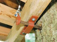 Treehouses cabins on pinterest treehouse tree houses House brackets