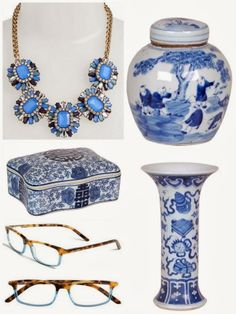Blue and White Gifts