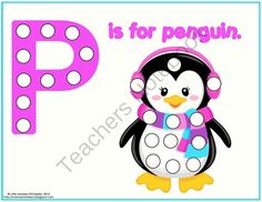 P is for Penguins {free}