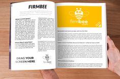 Magazine PSD #business #office #freelance #magazine #newspaper #HDPSD #drag