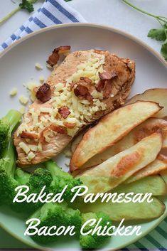 Baked Bacon Parmesan