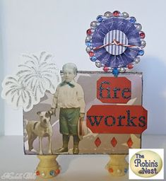 Chattering Robins tutorial for these cute home decor items for the 4th of July