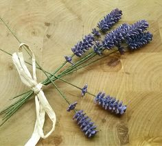 Lavender Sprigs, All Tied Up!