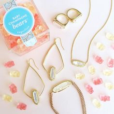 Sugarfina and Kendra Scott-- we can't think of anything better!
