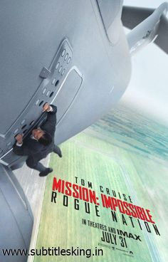 Need english captions for Mission Impossible - Rogue Nation. These subtitles will work for Mission Impossible - Rogue Nation of Ganool or any similar release group. Download them from http://www.subtitlesking.in/subtitle/mission-impossible-rogue-nation-ganool-english-subtitles-106974.htm and enjoy the movie in high noise areas or with broken earphones!