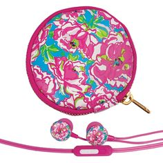 Lucky Charms Lilly Pulitzer Earbuds and Pouch