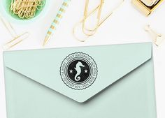Add your return address in style with these custom rubber address stamps. Featuring a seahorse and your address and name. Great for all year long, holiday / christmas card mailings or address your books and stuff! Perfect for beach and ocean lovers. Also makes a great gift or birthday present!