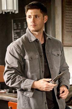 MY EDIT supernatural season 9 dean winchester Jensen Ackles 9.02 broad shoulders devil may care jensenfanclub