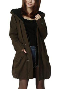 Mordenmiss Women's Sleeveless Coat Spring Waistcoat Vest Hoodie with Pockets 2015 at Amazon Women's Coats Shop