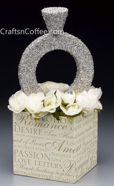 Super Bling Diamond Ring Centerpiece