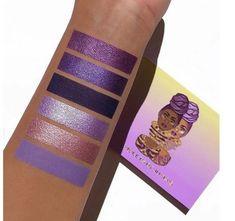 Purple Eyeshadow, Colorful Eyeshadow, Eyeshadow Looks, Beauty Care, Beauty Makeup, Eye Makeup, Makeup Goals, Makeup Palette, Eyeshadow Palette