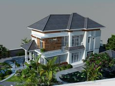 Thai House, Mansions Homes, Next At Home, Gazebo, Villa, Outdoor Structures, House Design, Architecture, House Styles