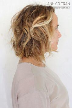 LA: SHORT HAIR SATURDAY! Cut/Style: Anh Co Tran. Appointment inquiries please call Ramirez|Tran Salon in Beverly Hills: 310.724.8167