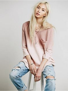 Free People Tanna Peached Out Bliss Tunic, $108.00